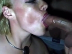 Cinema slut huge blowbang and bukkake