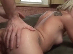 Amy Brooke Gets Mouth Filled With Cum