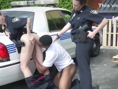 Amazing action as lady gets banged in cop bang blacks
