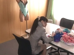 Incredible Japanese chick Aika Yumeno in Fabulous JAV censored Cumshots, College movie