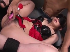 China Mimura Obedient Girls Gets Pumped With Toys