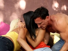 Horny pornstar in Amazing Blowjob, Threesomes xxx clip