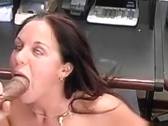 Judy Star Loves Getting Fucked By Big Black Cock At Work