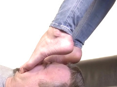 big worship sweaty feet