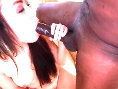 Amateur Girl Lily Lust With Braces Takes Big Black Cock