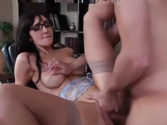 Spicy yellow-haired MILF Diana Prince getting drilled very hard