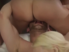 Threesome with blondes Kenzie Taylor and Briana Banks