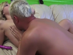 Amazing pornstar Harmony Rose in best creampie, blonde sex video
