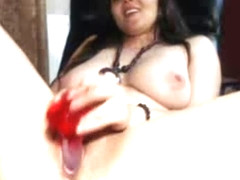 Closup Masturbation And Pussy Lips On Webcam