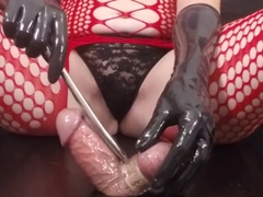 Femdom CBT Sounding Bound Gloryhole Cock Post Orgasm Torture