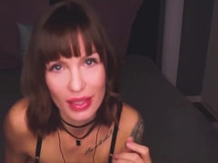 ASMR AMY TOPLESS BLOWJOB AND ROLEPLAY