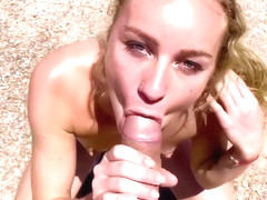 SEX VACATION- I got a creampie in the desert in Chile