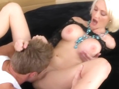 Ambrosial breasty MILF Torrey Pines