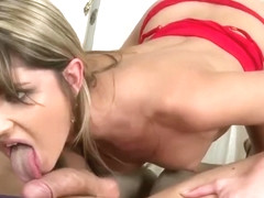 Pussy licking sex video featuring Anita Bellini and Karina Shay