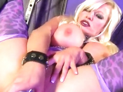 Ambrosial breasty Michelle Thorne having a wonderful time by Masturbating