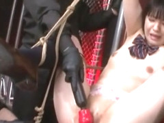 Japanese BDSM Threesome With Bondage And Vibrators