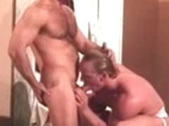 Crazy male pornstar in exotic masturbation, blowjob gay sex video