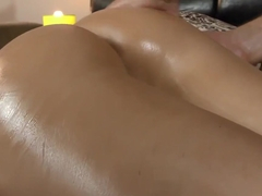 Oiling and Fucking my BIG ASSCHEEKS!