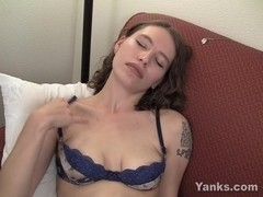 Tattooed Bridgette Masturbating