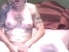 Crazy Homemade Shemale clip with Masturbation, Cumshot scenes