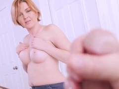 Marie Mccray Loves Watching Her Stepson Masturbate