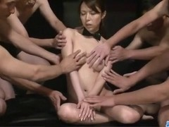 Kotone Aisaki gets more than one cock to dazzle her mind