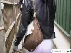 Pretty Alessa Savage gets nasty with a stranger in public