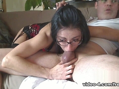 Livecam Deep Throat & Gagging For Messy Fun - KinkyFrenchies