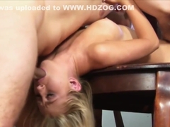 Horny blonde, Mandy Armani is fucking her ex once in a while and giving him blowjobs