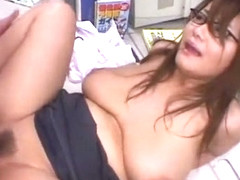 Horny Japanese model Chichi Asada in Amazing Couple, Big Tits JAV video