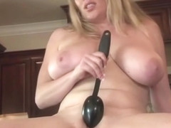 Nude Chef Maggie Green Plays With Her Pussy
