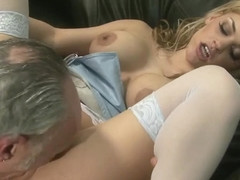 Sexy applicants fucked on the couch 4K - AllPornSitesPass