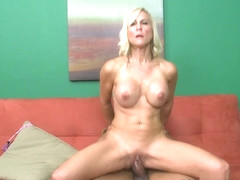 Carrie's Birthday Present: Big, Black Cock - Carrie Romano and Castro Supreme - 50PlusMILFs