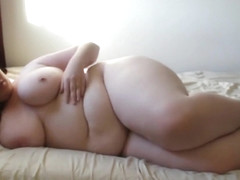 Plump Woman Poses Nude