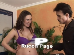 Horny pornstar Rucca Page in hottest creampie, hairy porn video