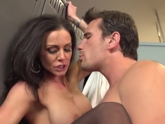 Crazy pornstar Kendra Lust in best blowjob, cumshots sex scene
