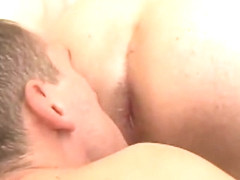 Gays having a rough anal sex with big dick