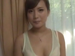 Horny Japanese model Rio Fujisaki in Crazy POV, Blowjob/Fera JAV video