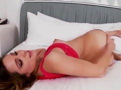 Unbelievable Zoey Foxx performing in a dildo fuck XXX movie