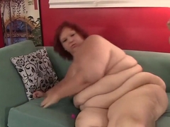 Super fat woman fucked something and