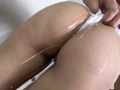 Suzuka Ishikawa gets punished after her cunt gets wet during masturbation