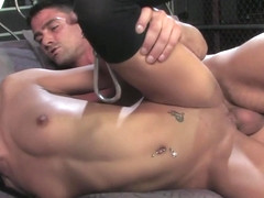 Toni Ribas & John Strong & Eva Ellington in Cuffed Threesome - KINK