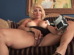 Fabulous pornstar Velicity Von in amazing blonde, big cocks sex scene