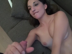 Bubbly Spanish Teen Jimena Lago Has A Threesome With Busty
