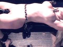 Lovely Holly Heart featuring real BDSM action