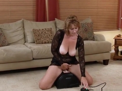 Beauty Step-Mom Samantha Stone Riding Cock Sweet Hot Friend