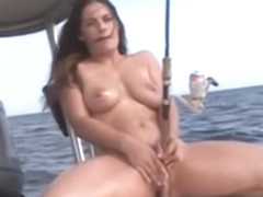 Heather Silk handjob on boat 25.042019