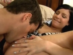 Ramon Nomar eats his sister's friend Tori Lux pussy