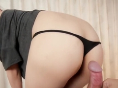 assjob japanesegirl cun on her ass