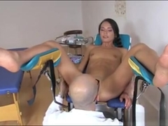 Kinky Teen Nataly Gold Get Her Ass Examined By Perv Doctor